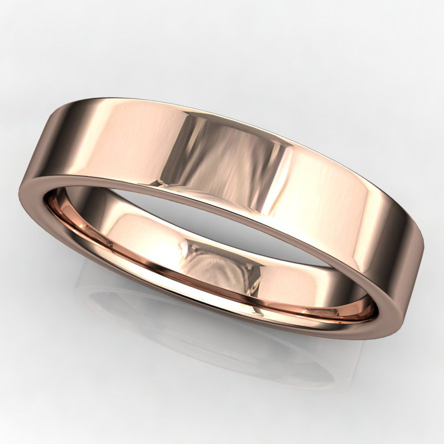 4x1-5mm archer ring rose gold