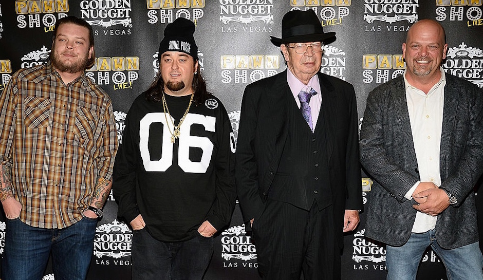"Cast Of ""Pawn Stars"" Attend The Opening Of The ""Pawn Shop Live!"" Parody Show"