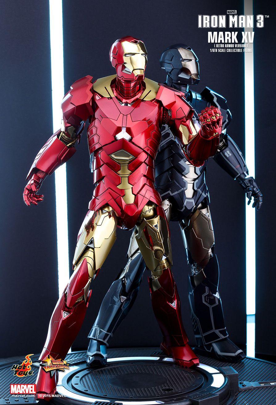 Hot Toys Iron Man 3 Iron Man Mark XV 15 Sneaky Retro