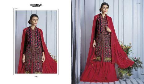 Jinaam heroine varavela designer salwar Kameez catalog