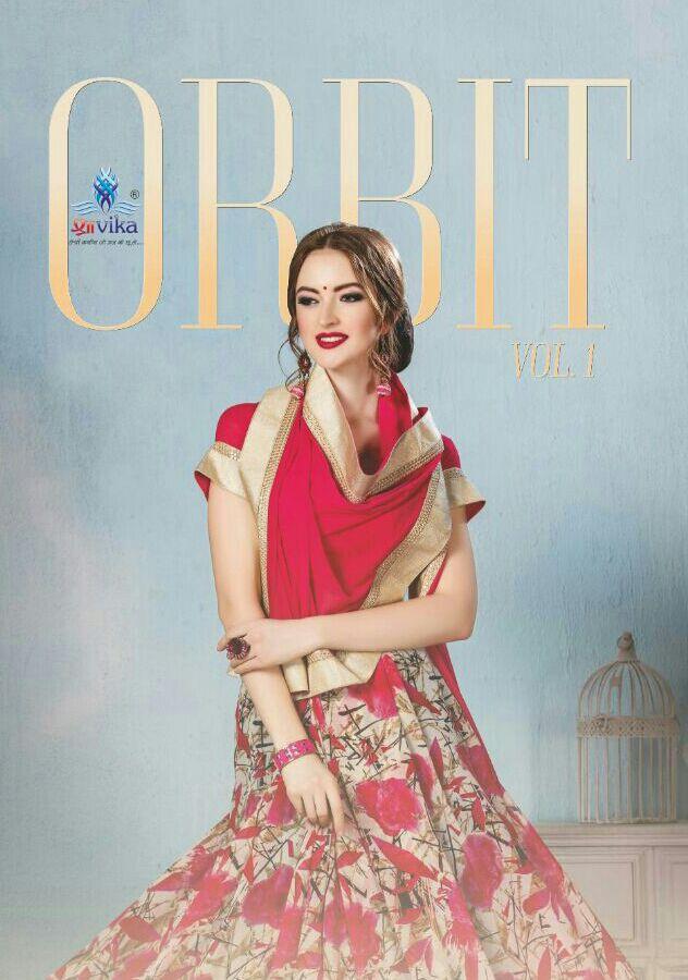 shravika  orbit vol-1 sarees catalog