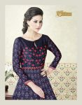 Voilet Chenab 3 Lehanga Collection anarkali style gown