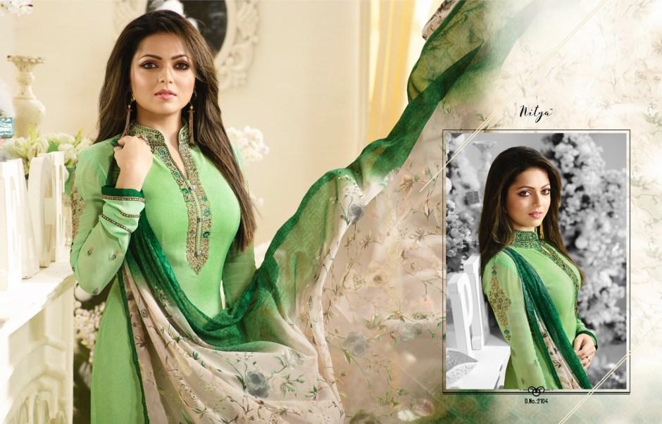 Lt fabrics presents Nitiya vol 111 salwar kameez collection wholesale price supplier