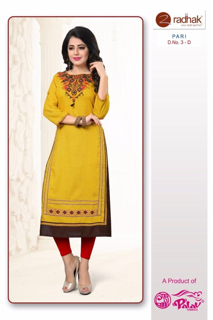 radhak fashion paridhi vol 1 kurties collection at wholesale rate seller