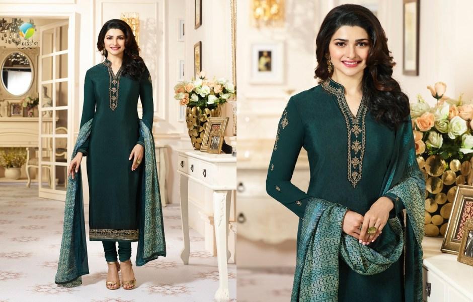 Vinay fashion silkina royal crepe vol 11 salwar kameez collection at wholesale rate seller