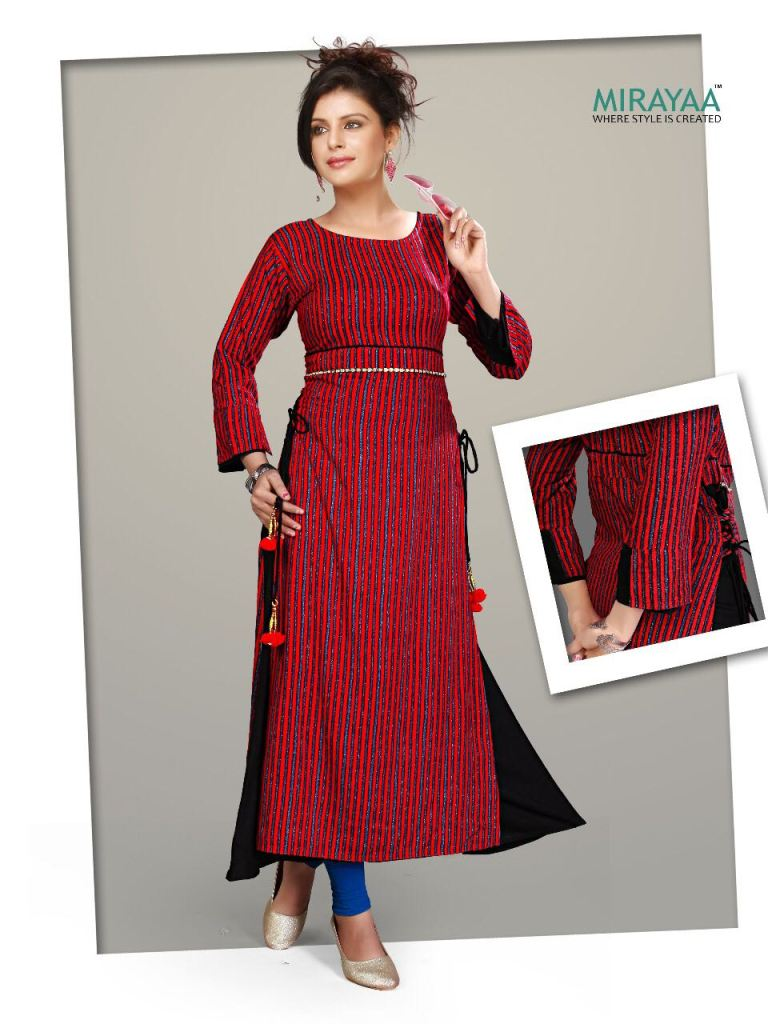 Mirayaa jetta daily wear kurtis collection