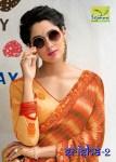 Seymore srisha vol 2 designer printed sarees collection