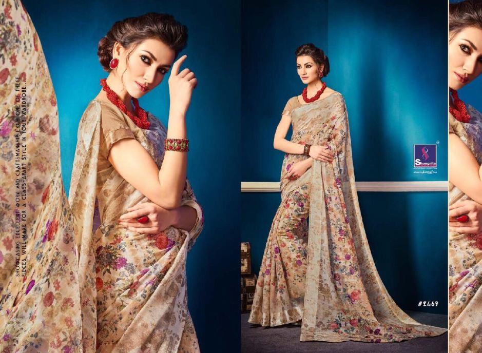 Shangrila kanchana cotton vol 2 linen cotton sarees collection