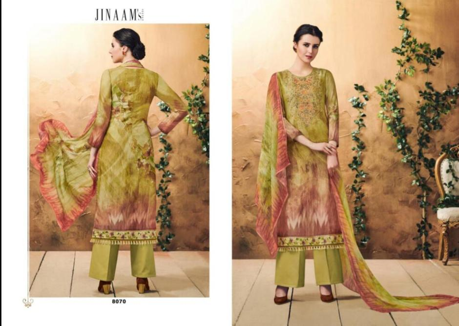 Jinaam digital dream salwar Kameez Collection