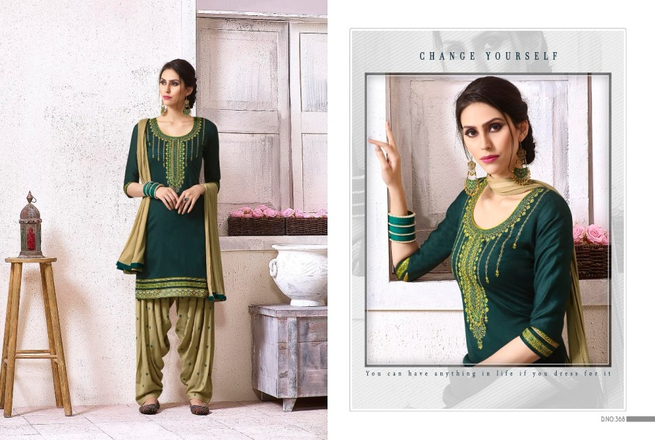 Kajree fashion fashion of patiala vol 18 ready made suits catalog
