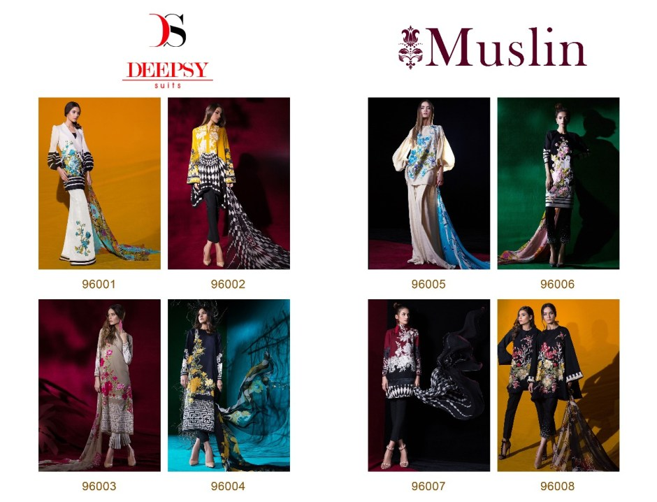 Deepsy muslin Salwar Kameez Catalog dealer