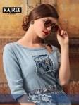 Kajree Fashion blue lee denim gowns Catalog