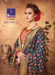Shangrila silk patola Vol 2 Sarees catalog dealer