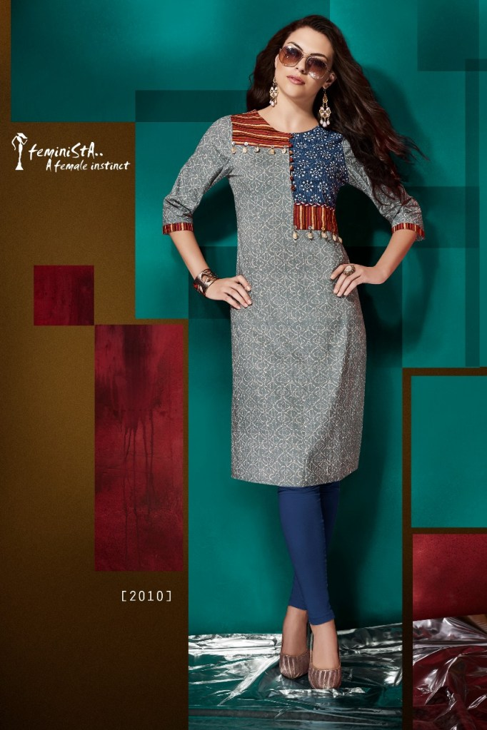 Arena fashion style square kurties collection dealer