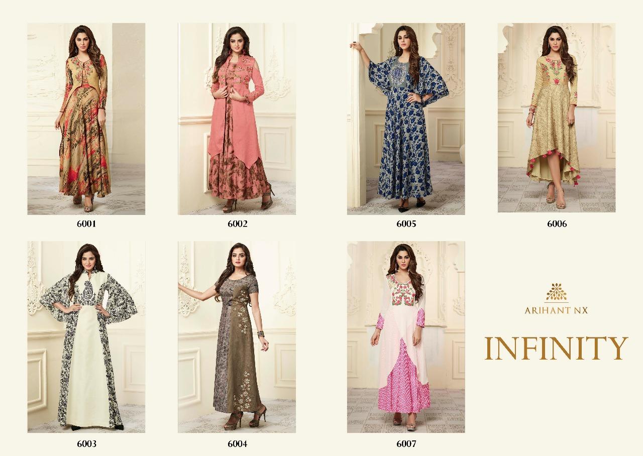 8dd7c93c03 Arihant NX presents infinity summer collection stylish kurtis