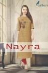 Gallberry presents nayra stylish beautiful collection of kurtis