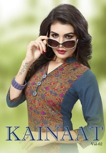 kainaat presents kainaat vol 2 beautiful collection of heavy rayon kurtis