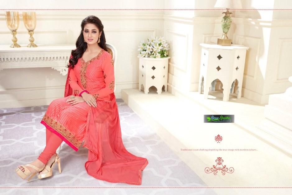 shree shalika brings crystalic brasso fancy collection of salwar kameez