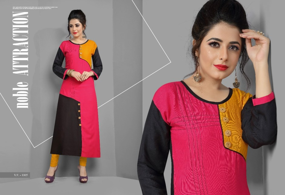 vilohit enterprise presents radha vol 1 collection of casual straight kurtis