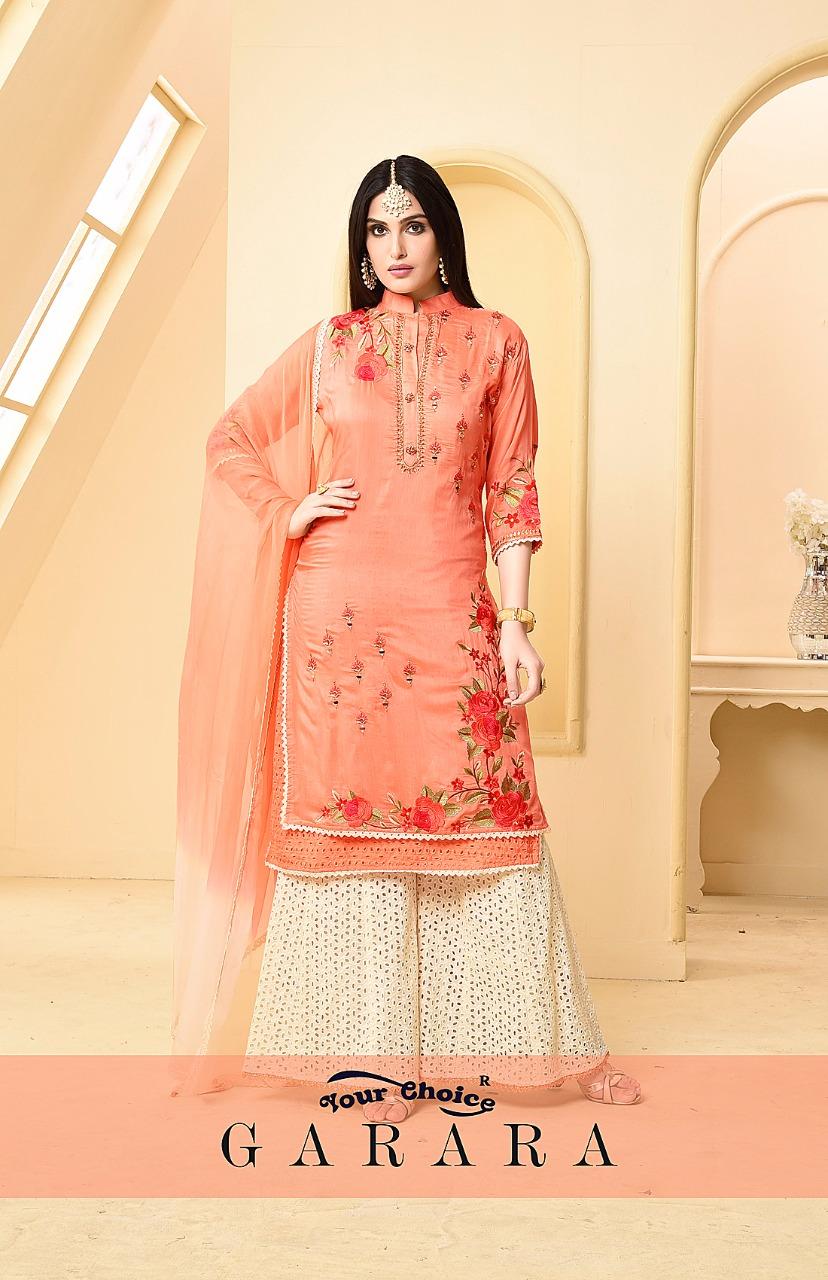 Your choice presenting garara ramzan special summer collection of cotton salwar kameez