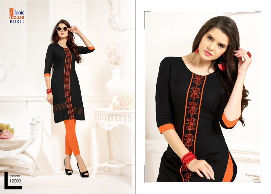 Zoomer vol 2 by tunic house launch concept of casual kurtis collection