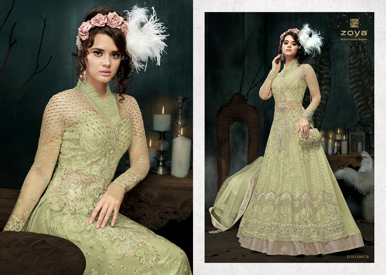 b19f3f8aae Zoya introduce sparkle colour Vol 1 ramzan collection of gowns