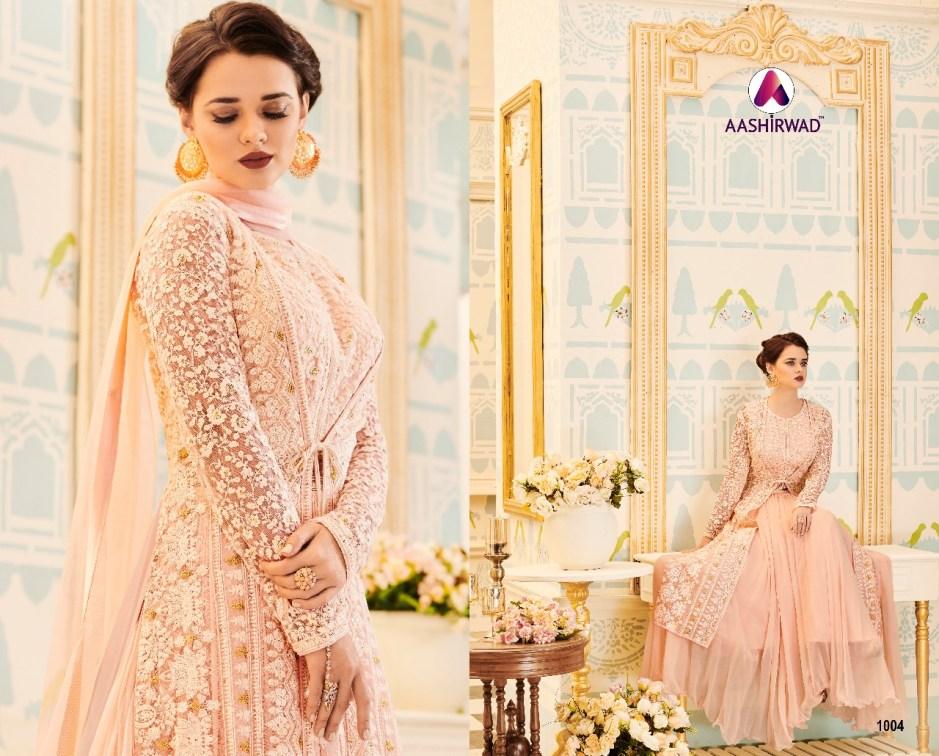 Aashirwad Launch veeda nx Designer party wear gown collection