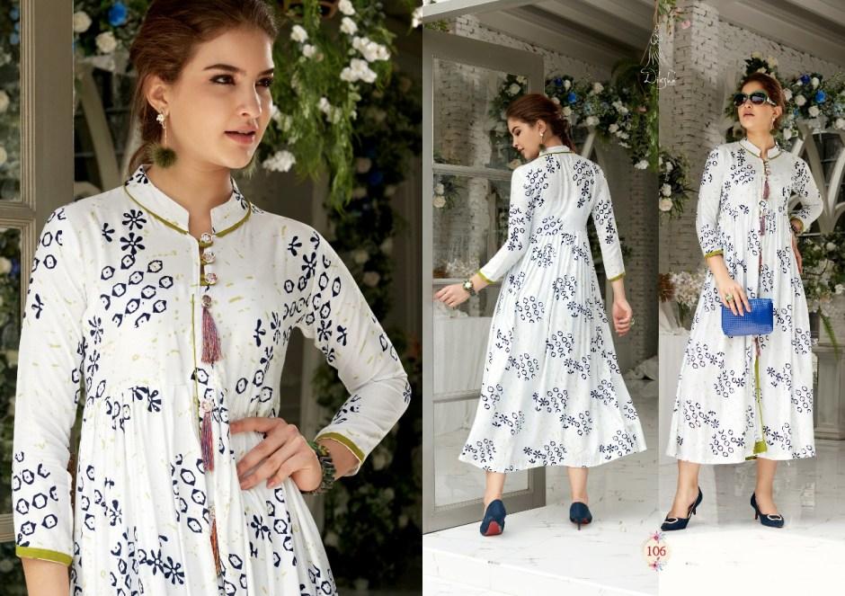 Diksha fashion Presents rich girl vol 1 mesmerising collection of kurtis