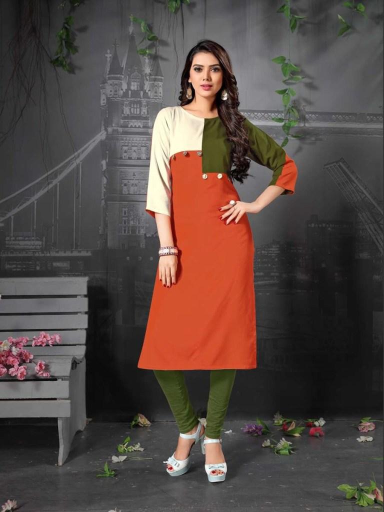 Janvi designer presenting vaarahi vol 2 casual wear kurtis