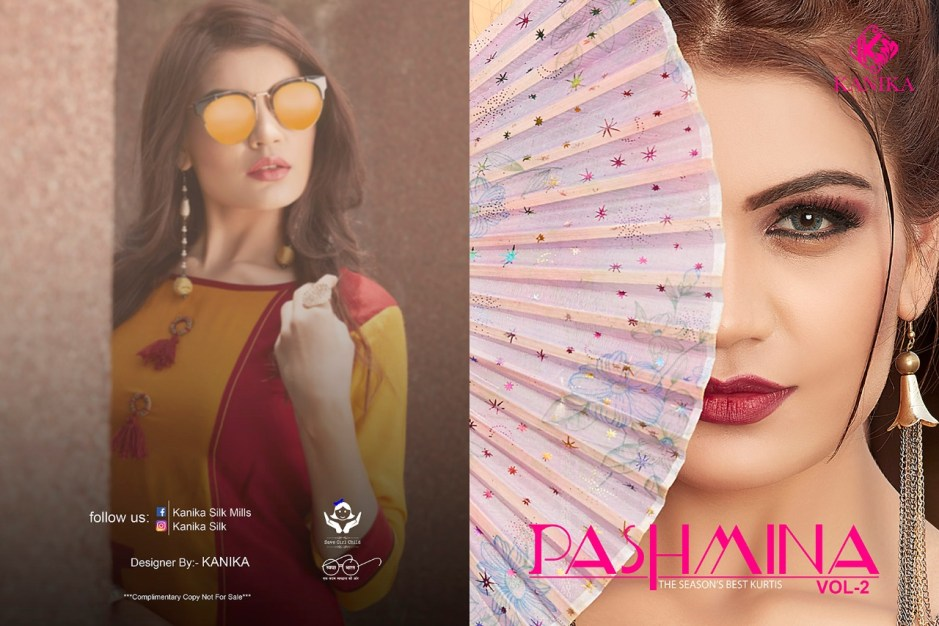 Kanika presents pashmina vol 2 Casual wear kurtis