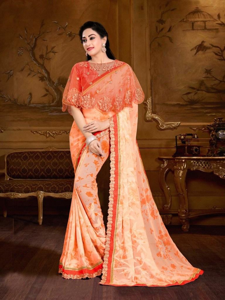 Maniyar sarees presenting nazakat fancy collection of sarees