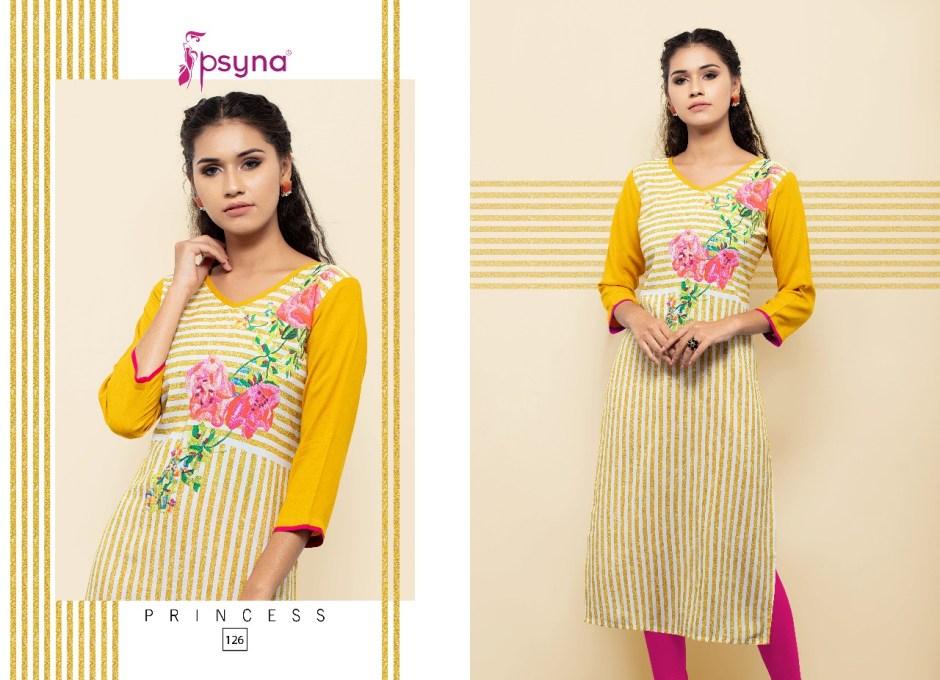 Psyna presents princess 12 exclusive collection of kurtis