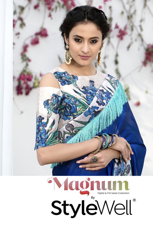 Stylewell launching magnum exclusive collection of sarees