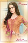 Cosmos fashion presents seher vol 1 Beautiful collection of printed salwar kameez