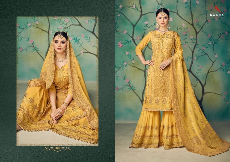 Kaara suits presents ruby bridal collection Salwar kameez concept