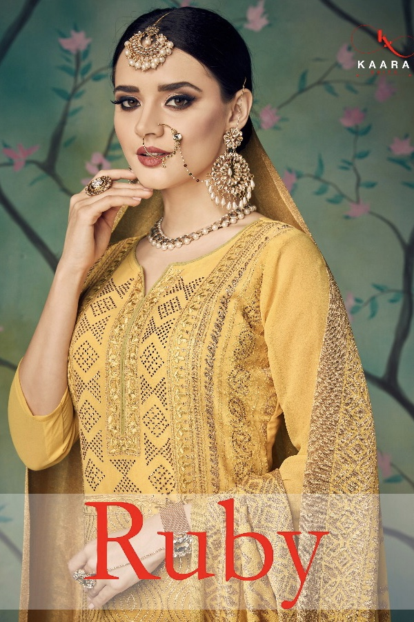 Kaara suits presents ruby bridal collection Salwar kameez concept