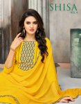 Kapil trendz presents shisa vol 4 Spring wear cotton printed salwar kameez collection