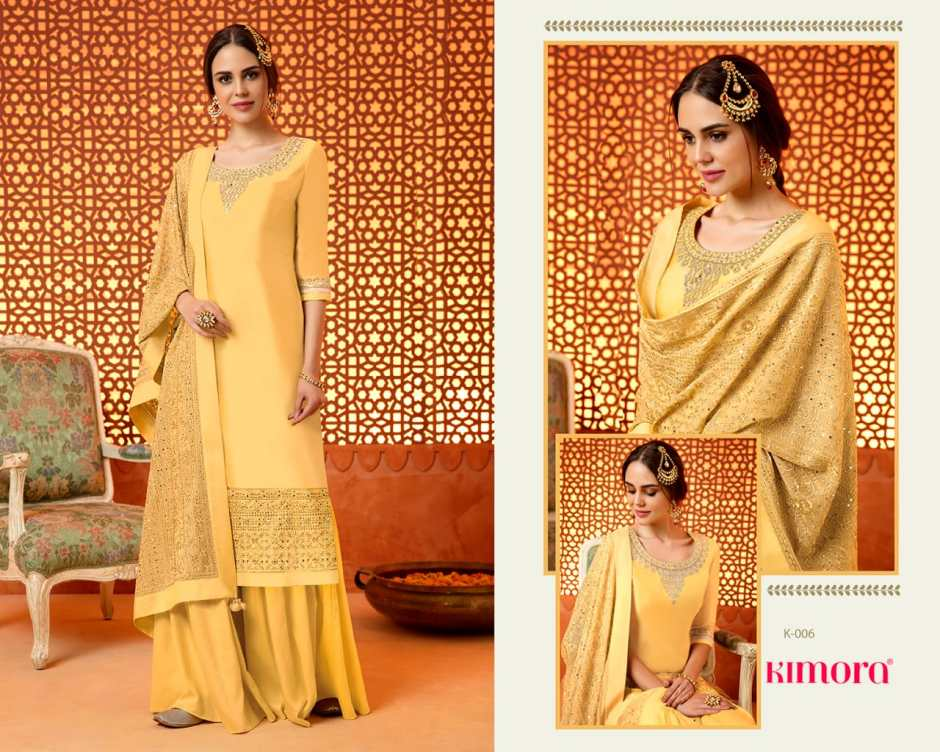 Kimora fashion presents kimora 1 stylish party wear look concept of salwar kameez