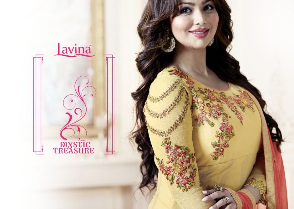Lavina presents roohani vol 7 traditional festive collection of Indo western gowns