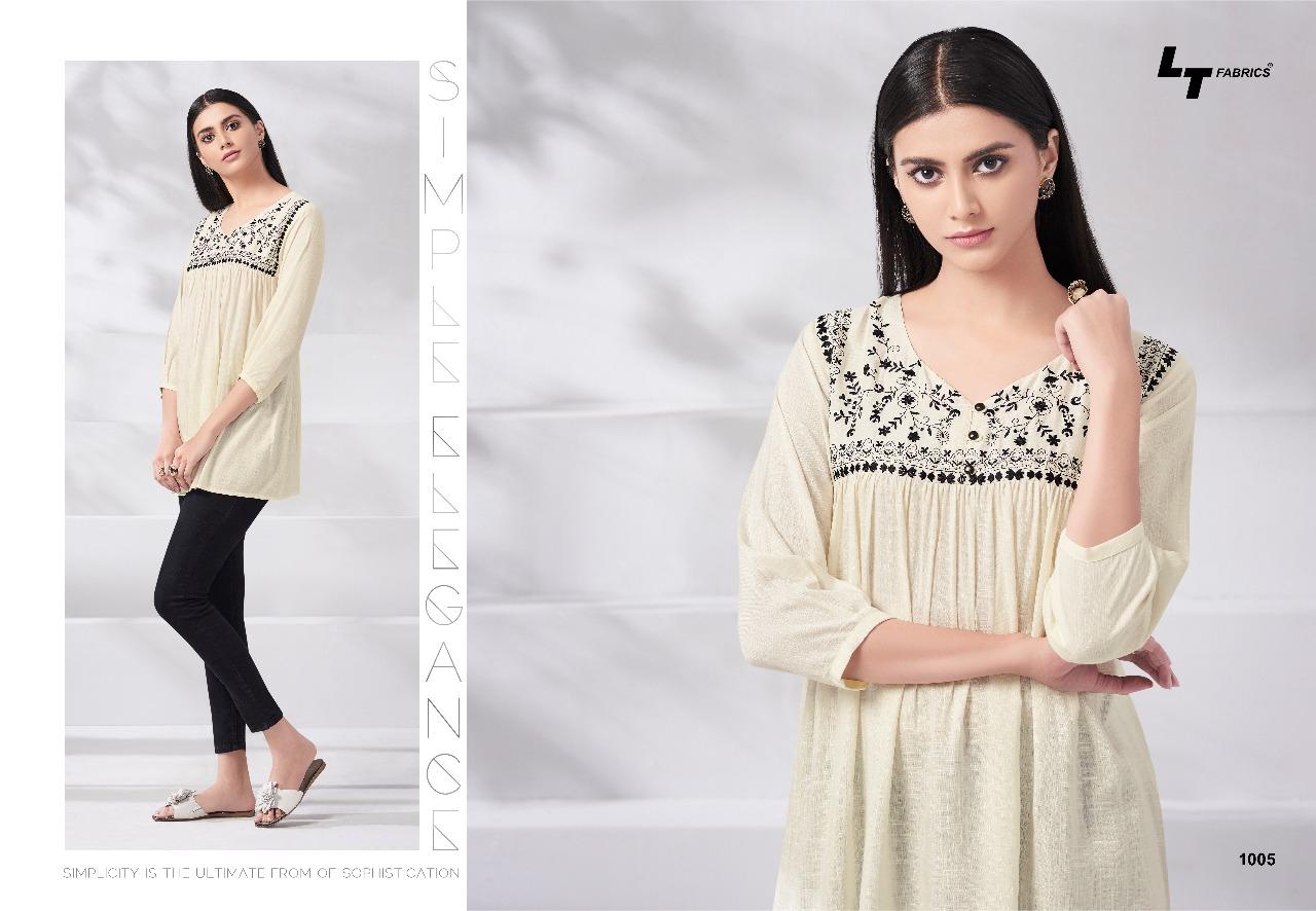 944e193c9b LT fabrics presents essentials vol 1 beautiful colllection of top style  kurti
