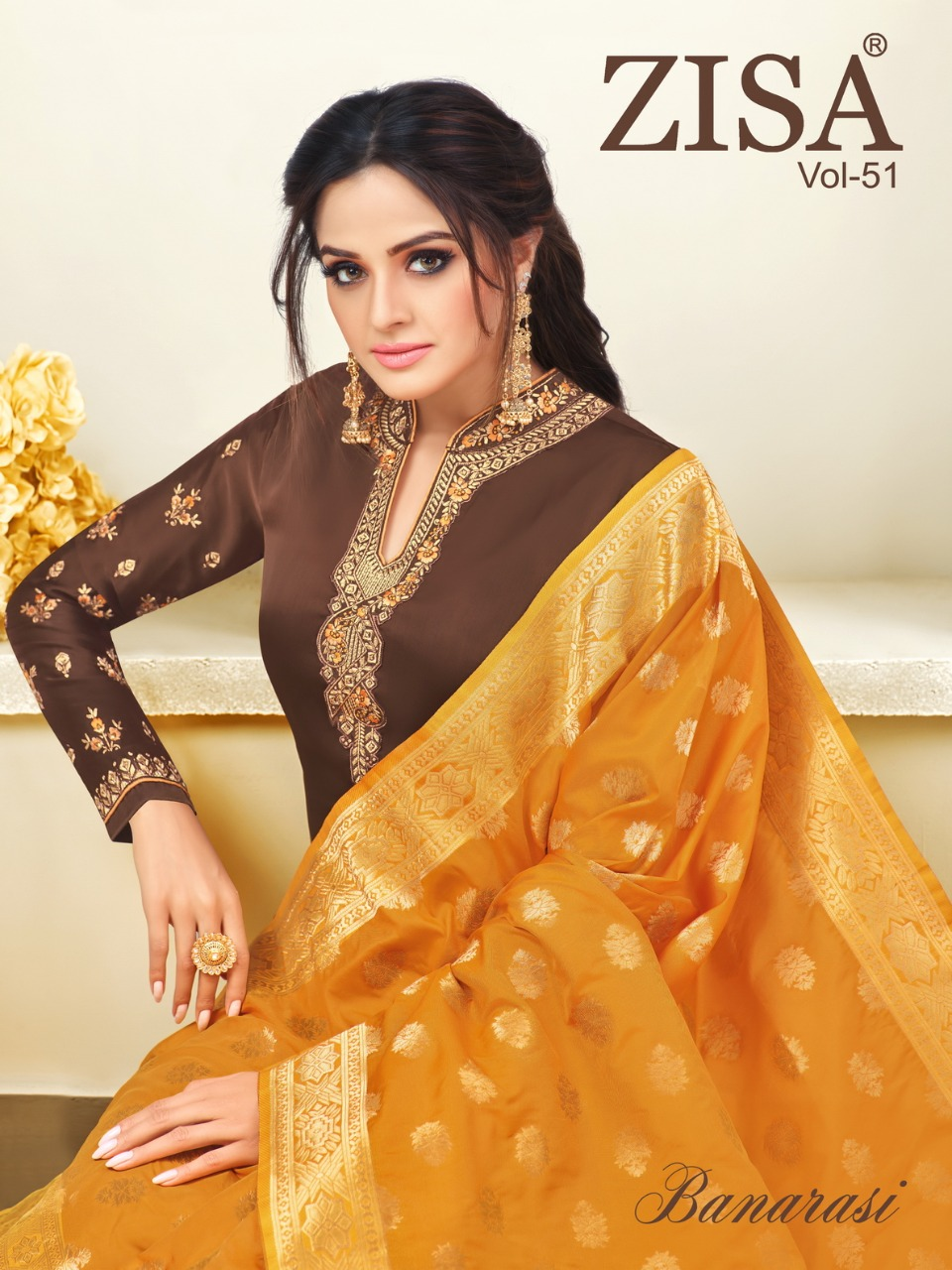 6138bcc901 Meera trendz lLP presents zisa vol 51 ethnic wear festive collection of salwar  kameez