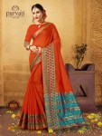Parvati presents 8865 series beautiful ethnic wear sarees collection