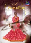 Vishal sarees presents socialites vol 3 fancy ethnic wear sarees collection