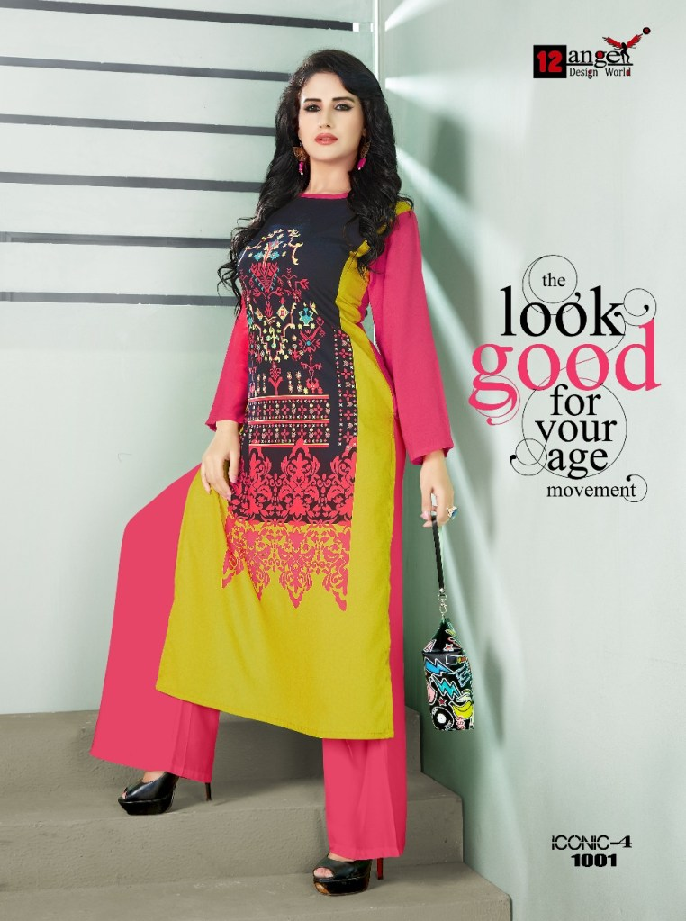 12 angel design world presenting iconic vol 4 casual ready to wear kurtis concept
