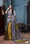 Aarza Launch portrait semi casual digital printed collection of sarees