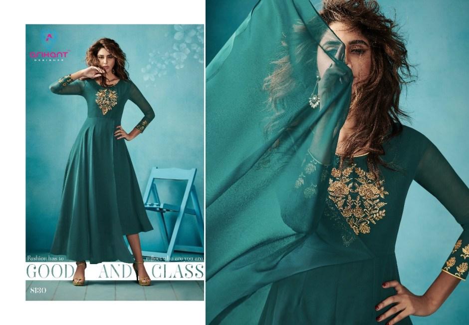 Arihant designer presents sasya vol 15 designer stylish kurtis concept
