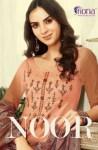 Fiona presents noor casual wear beautiful collection of salwar kameez