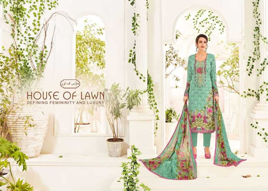 House of lawn presents muslin casual printed salwar kameez collection