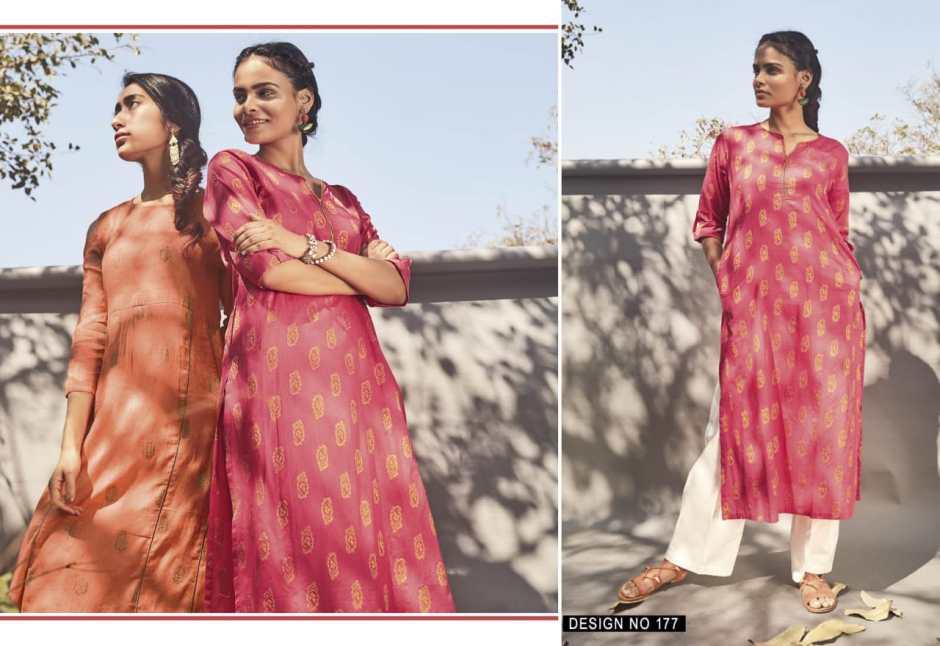 idar launch chanderi casual ready to wear kurtis concept