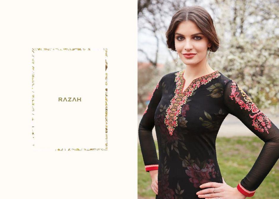Jinaam Dress P LTD presents razha brenda Festive collection of salwar kameez
